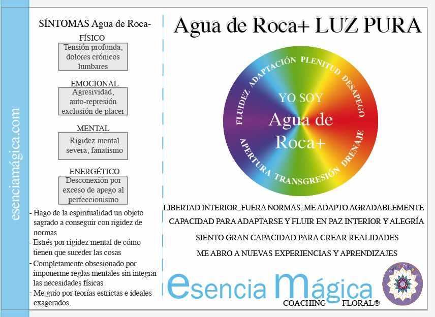 AGUA DE ROCA BACH FLUIDEZ