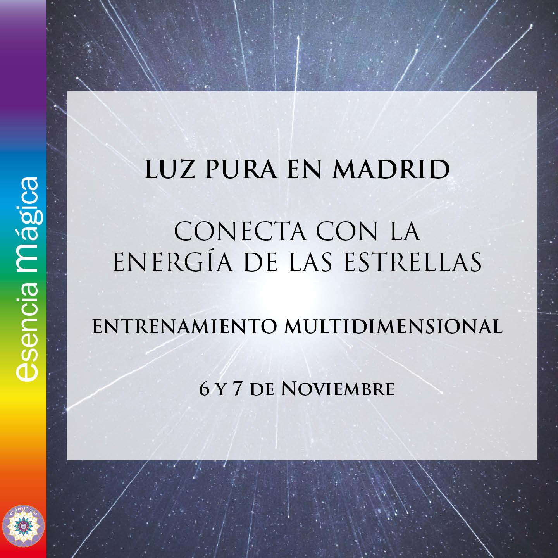 luz pura MADRID 2021